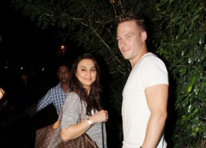 Preity Zinta and Gene Goodenough-min
