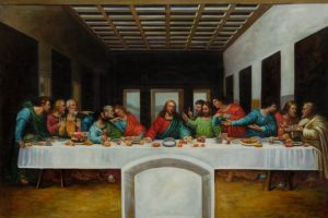 The Last Supper by Leonardo da Vinci-min