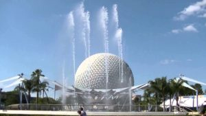Epcot's Fountain of Nations, Florida