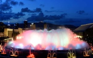 The Magic Fountain, Barcelona-